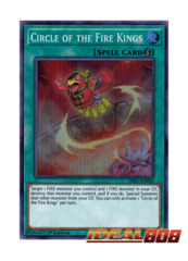 Circle of the Fire Kings - HISU-EN056 - Super Rare - 1st Edition