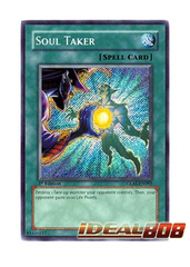 Soul Taker - GLAS-EN092 - Secret Rare - Unlimited Edition