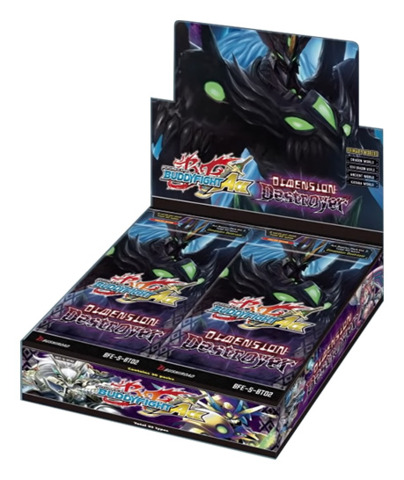 BFE-S-BT02 Dimension Destroyer (English) Future Card Buddyfight Ace Booster Box