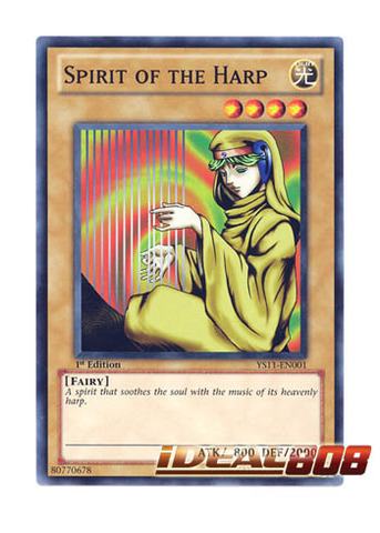 Spirit of the Harp - YS11-EN001 - Common - Unlimited Edition