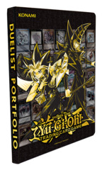 Yugioh Golden Duelist Collection - Yugi & Dark Magician - 9-Pocket Duelist Portfolio * PRE-ORDER Ships Feb.15