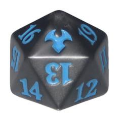 MTG Spindown 20 Life Counter - Modern Event Deck (Blue/Grey)