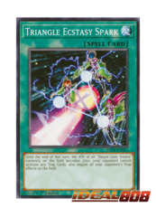 Triangle Ecstasy Spark - LED4-EN011 - Common - 1st Edition