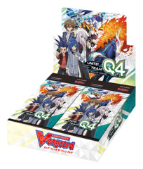 CFV-V-BT01 Unite! Team Q4 (English) Cardfight Vanguard V-Booster Box