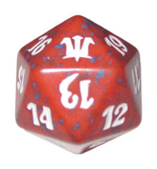 MTG Spindown 20 Life Counter - Innistrad (Red)