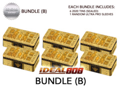 Yugioh 2020 Tin - Bundle (B) - Get x6 Tins + Bonus Item * PRE-ORDER Ships Aug.28