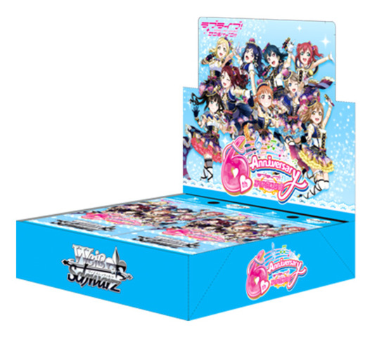 Love Live! Sunshine!! feat. SIF ~6th Anniversary~ | ラブライブ!サンシャイン!! (Japanese) Weiss Schwarz Booster Box [16 Packs] (Blue)