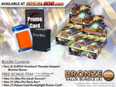 FC-Buddyfight X-BT03 Bundle (A) Bronze - Get x2 Overturn! Thunder Empire! Booster Box + FREE Bonus Items