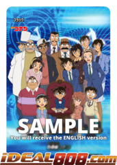 Detective Conan [High School Dectives (Flag)] [S-UB-C01/S005EN SP (Gold Border FOIL)] English