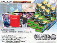 Cardfight Vanguard G-EB02 Bundle (B) Silver - Get x6 The AWAKENING ZOO Booster Box + FREE Bonus Items * PRE-ORDER Ships Jan.26