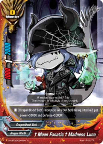 † Moon Fanatic † Madness Luna [S-CBT02/0041EN C (FOIL)] English