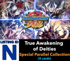 # True Awakening of Deities [S-BT03 ID (N)] Special Parallel Collection [Includes 1 of each SP (4 cards)]