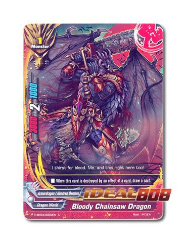 Bloody Chainsaw Dragon [H-BT04/0050EN U (FOIL)] English