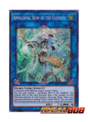 Apollousa, Bow of the Goddess - RIRA-EN048 - Secret Rare - Unlimited Edition