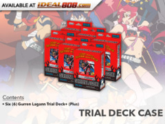 GURREN LAGANN (English) Weiss Schwarz Trial Deck+  Box [Contains 6 Decks] * PRE-ORDER Ships Jul.5