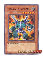 Cannon Soldier MK-2 - PTDN-EN035 - Common - 1st Edition