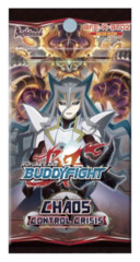 BFE-X-BT02 Chaos Control Crisis (English) Future Card Buddyfight X Booster Pack