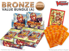Cardfight Vanguard G-BT10 Bundle (A) Bronze - Get x2 Raging Clash of the Blade Fangs Booster Box + FREE Bonus Items
