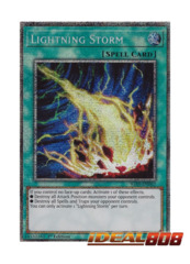 Lightning Storm - IGAS-EN067 - Prismatic Secret Rare - 1st Edition