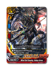 Wind Call Cavalry, Voltex Arms [H-BT01/0043EN U] English Uncommon