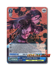 End of Fate, Kirito [SAO/SE23-E23SP SP (SIGNED FOIL)] English
