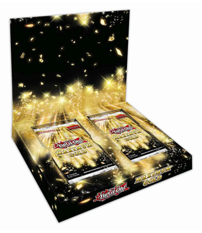Maximum Gold Yugioh Booster Box [4 packs] * PRE-ORDER Ships Nov.13
