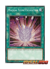 Magical Stone Excavation - LEHD-ENA24 - Common - 1st Edition