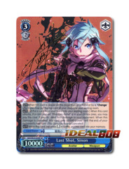 Last Shot, Sinon [SAO/SE23-E24SP SP (SIGNED FOIL)] English