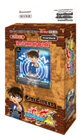 BFE-S-TD-C01 Case Closed -Side:White- | Detective Conan (English) Future Card Buddyfight Ace Trial Deck