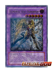 Elemental Hero Darkbright - TAEV-EN042 - Ultimate Rare - Unlimited Edition