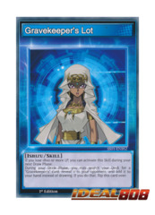Gravekeeper's Lot - SS01-ENBS2 - Common - 1st Edition