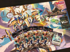 CFV-V-EB13 The Astral Force (English) Cardfight Vanguard SNEAK PREVIEW Player KIT [4x Packs + Candid Envoy, Shiropon Promo]