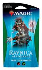 Ravnica Allegiance (RNA) Themed Booster Pack - Gruul [35 cards]