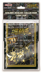 Yugioh Golden Duelist Collection - Yugi & Dark Magician - Card Case Deck Box (fits 70+ cards) * PRE-ORDER Ships Feb.15