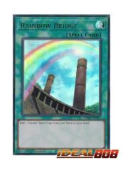 Rainbow Bridge (Green) - LDS1-EN111 - Ultra Rare - 1st Edition