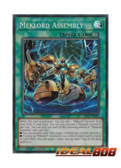 Meklord Assembly - LED7-EN020 - Super Rare - 1st Edition