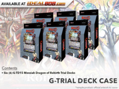 CFV-G-TD15 Messiah Dragon of Rebirth (English) G-Trial Deck  Box [Contains 6 Decks]