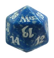 MTG Spindown 20 Life Counter - M13 Magic 2013 (Blue)