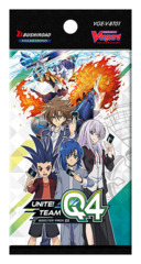 CFV-V-BT01 Unite! Team Q4 (English) Cardfight Vanguard V-Booster Pack