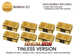 Yugioh 2020 Tin (Tin-Less Version) - Bundle (C) - Get x8 Tin-Less Versions + Bonus Item * PRE-ORDER Ships Aug.28