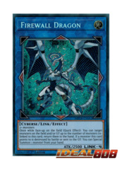 Firewall Dragon - MP18-EN062 - Secret Rare - 1st Edition