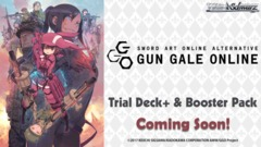 Sword Art Online Alternative : Gun Gale Online (English) Weiss Schwarz Booster Box * PRE-ORDER Ships May 17