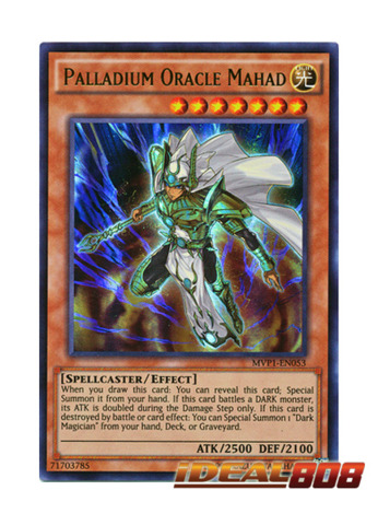 Palladium Oracle Mahad - MVP1-EN053 - Ultra Rare - Unlimited Edition