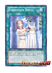 Forbidden Dress - BP02-EN168 - Mosaic Rare - 1st