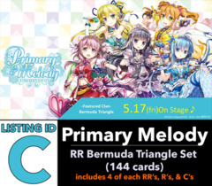 # Primary Melody [V-EB05 ID (C)] RR Bermuda Triangle Set [Includes 4 of each RR's, R's, C's (144 cards)]