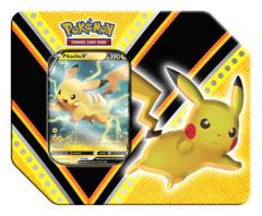 Pokemon TCG: V Powers Tin - Pikachu V * PRE-ORDER Ships Sep.04