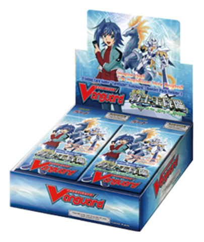 CFV-BT01 Descent of the King of Knights (English) Cardfight Vanguard Booster Box
