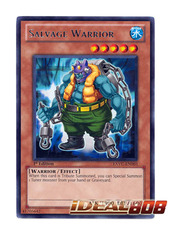 Salvage Warrior - EXVC-EN003 - Rare - 1st Edition