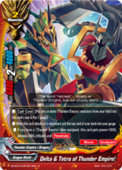 Delta & Tetra of Thunder Empire! [X2-BT01A-SP/0014EN R (Parallel FOIL)] English