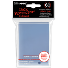 Ultra Pro Small Sleeves 60ct. - Clear (#82962)